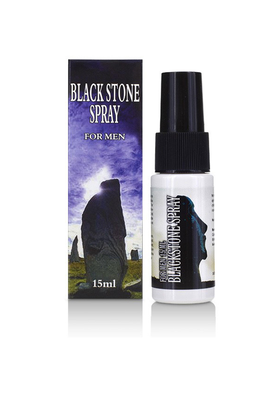 Black Stone Spray for Men, 15 ml